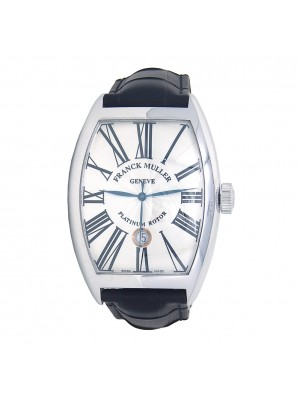 Franck Muller Cintree Curvex 18k White Gold Automatic Men's Watch 8880 SC DT