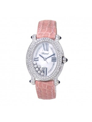 Chopard Happy Diamond Sport Stainless Steel Swiss Quartz Ladies Watch 8937