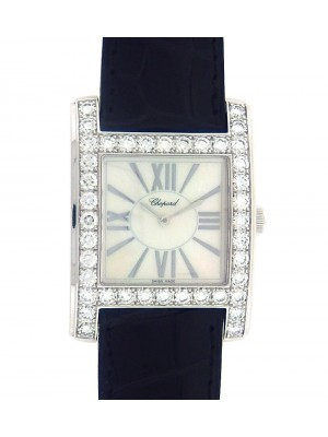 Chopard Classic 139335-1001 18K White Gold Diamonds Mother of Pearl Ladies Watch
