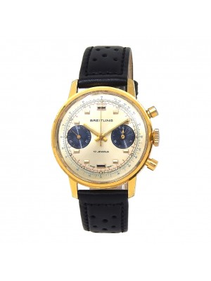 Breitling Vintage 18k Yellow Gold & Stainless Steel Manual Men's Watch 9122