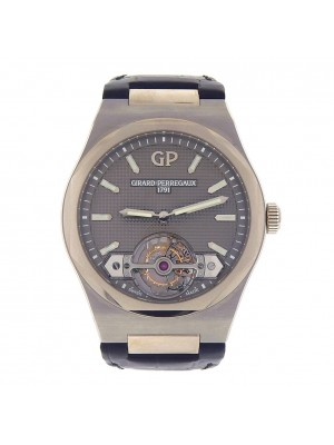 Girard Perregaux Laureato Tourbillon Titanium Automatic Men Watch 9910541232BB6A