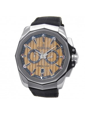 Corum Admiral's Cup AC-One 45 Stainless Steel Auto Wood Men's Watch A116/02599