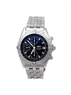 Breitling Chronomat Blackbird Chrono Stainless Steel Automatic Mens Watch A13350