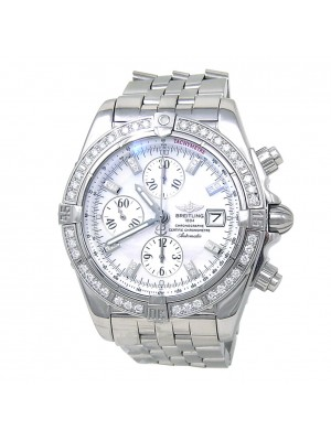 Breitling Chronomat Evolution Stainless Steel Men's Watch Automatic A13356
