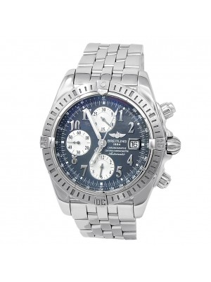 Breitling Chronomat Evolution Stainless Steel Automatic Grey Men's Watch A13356