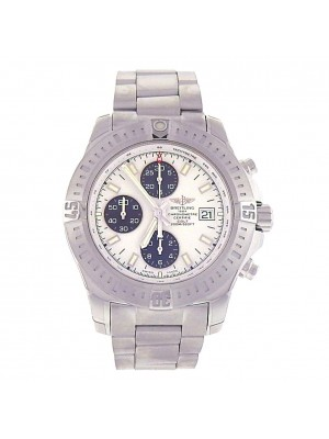 Breitling Colt Swiss Made Stainless Steel Chrono Automatic Men's Watch A13388