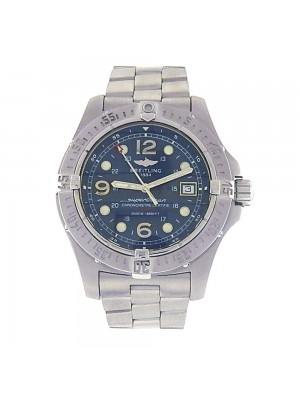 Breitling Superocean Steelfish Stainless Steel Automatic Diver Watch A17390