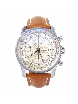 Breitling Navitimer World Stainless Steel Automatic Men's Watch A2432212/G571
