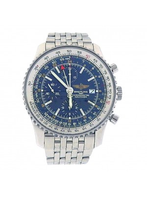 Breitling Navitimer World Stainless Steel Automatic Chronograph Men's Watch