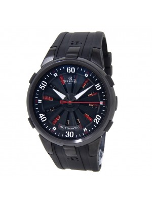Perrelet Turbine XL Roulette Black DLC Stainless Steel Automatic Watch A4054-1