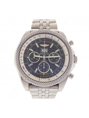 Breitling Bentley A44364 Stainless Steel Chronograph Automatic Grey Men's Watch
