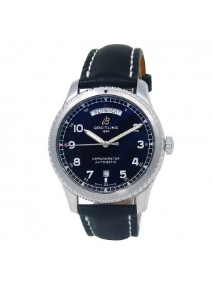 Breitling Navitimer 8 Day Date Stainless Steel Men's Watch Automatic A45330