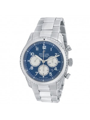 Breitling Navitimer 8 B01 Stainless Steel Automatic Blue Men's Watch AB0117