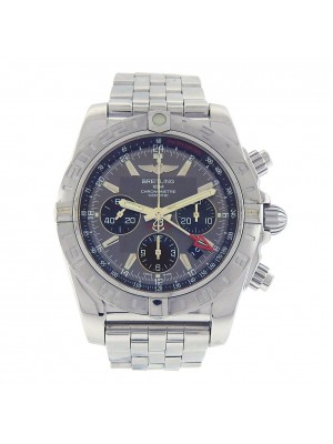 Breitling Chronomat 44 GMT Stainless Steel  Automatic Men's Watch AB042011/F561