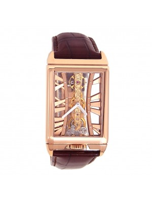 Corum Golden Bridge 18k Rose Gold Manual Wind Men's Watch B113/03044