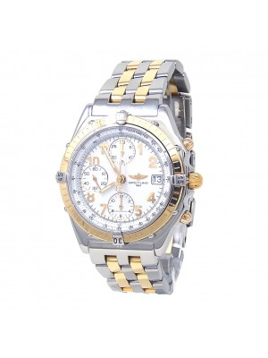 Breitling Chronomat Stainless Steel & 18K Yellow Gold Automatic Watch B13050.1