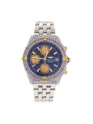 Breitling Chronomat Blue Dial Stainless Steel Automatic Chronograph Watch B13352