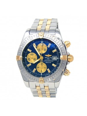 Breitling Chronomat Evolution 18k Yellow Gold & Stainless Steel Automatic B13356