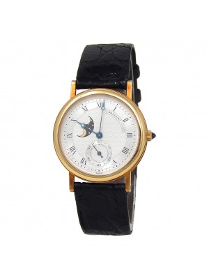 Breguet Classic Moon Phase 18k Yellow Gold Manual Wind Men's Watch BA3300/12/286