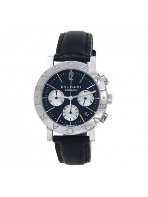 Bvlgari Bvlgari Stainless Steel Automatic Chronograph Men's Watch BB 38 SL CH