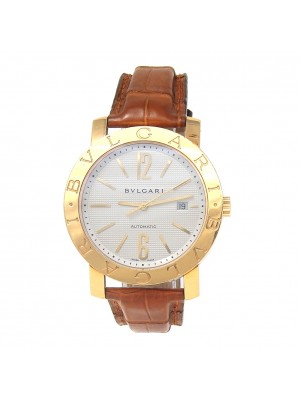 Bulgari Bvlgari 18K Yellow Gold Automatic Men's Watch BB42GL