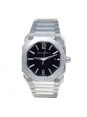 Bvlgari Octo Stainless Steel Automatic Men's Watch BGO 38 S