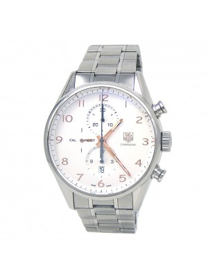 Tag Heuer Carrera Chronograph SS Men's Watch Automatic CAR2012.BA0796