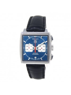 Tag Heuer Monaco Calibre 12 Stainless Steel Automatic Mens Watch CAW2111.FC6183