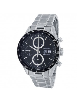 Tag Heuer Carrera Stainless Steel Automatic Black Men's Watch CV2010.BA0794