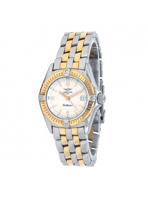 Breitling Callistino 18k Yellow Gold & Stainless Steel Quartz Ladies D52045