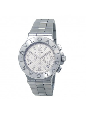 Bvlgari Diagono Stainless Steel Automatic Men's Watch DG 40 S CH
