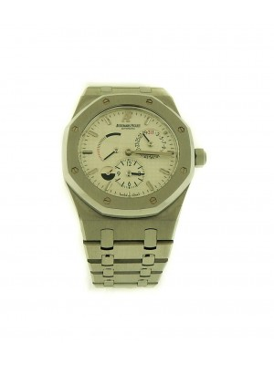 Men's Audemars Piguet Royal Oak Stainless Steel Dual Time GMT Automatic Watch