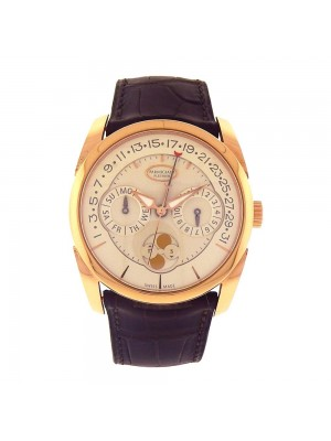 Parmigiani Tonda Quator 18k Rose Gold Automatic Men's Watch PFC2721002400-HA1241