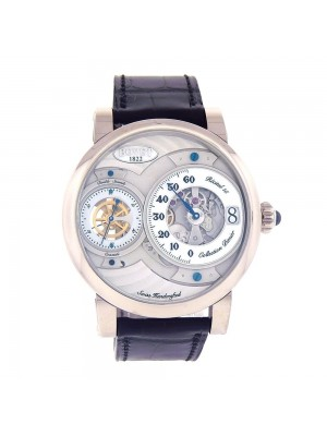 Bovet Dimier Collection White Gold Skeleton Mechanical Watch DTR1542WG000W101