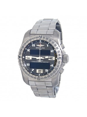 Breitling Cockpit B50 GMT Titanium Swiss Quartz Men's Watch EB5010