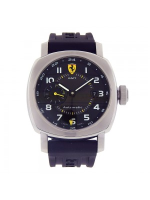 Panerai Ferrari Scuderia GMT Stainless Steel Automatic Men's Watch FER00009