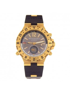 Bvlgari Diagono Pro GMT 18k Yellow Gold Automatic Men's Watch GMT40C5GVD