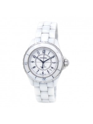 Chanel J12 White Ceramic Automatic Ladies Watch J12