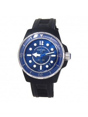 Chanel J12 Marine Black Ceramic Automatic Ladies Watch H2561