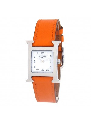 Hermes Heure H Stainless Steel Swiss Quartz Ladies Watch HH1.210