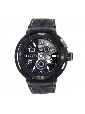 Clerc Hydroscaph DLC Titanium Automatic Men's Watch HY-PR-252