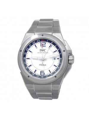 IWC Ingenieur Dual Time Stainless Steel Automatic Men's Watch IW324404