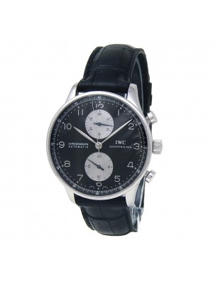 IWC Portuguese Stainless Steel Automatic Men's Watch IW371404