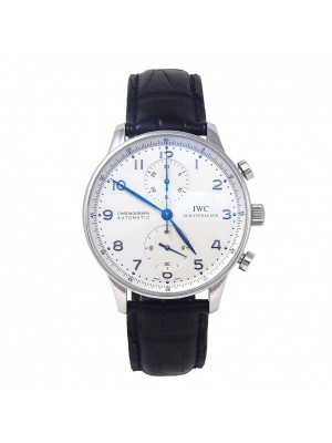 IWC Portuguese Chronograph Stainless Steel Automatic Men's Watch IW371417