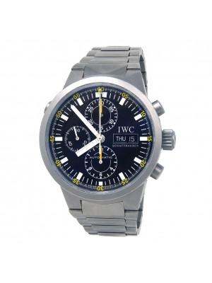 IWC GST Split Second Chronograph Titanium Automatic Chronograph Watch IW371503
