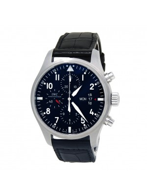 IWC Pilot's Stainless Steel Automatic Chronograph Men's Watch IW377701
