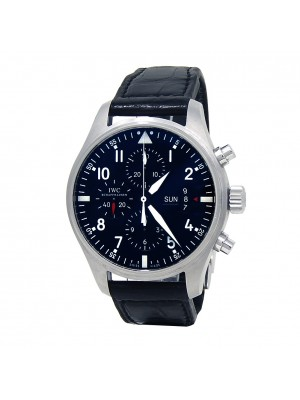 IWC Pilot's Chronograph Stainless Steel Automatic Men's Watch IW377701