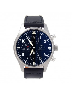IWC Pilot's Stainless Steel Day Date Automatic Men's Watch IW377709
