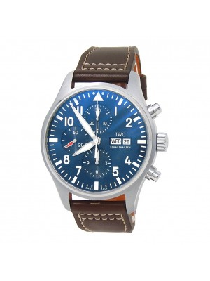 IWC Pilots Chronograph Edition Le Petit Prince S.S Automatic Mens Watch IW377714