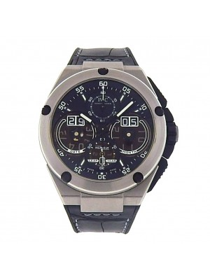 IWC Ingenieur Perpetual Calendar IW379201 Titanium Chrono Auto Black Men's Watch